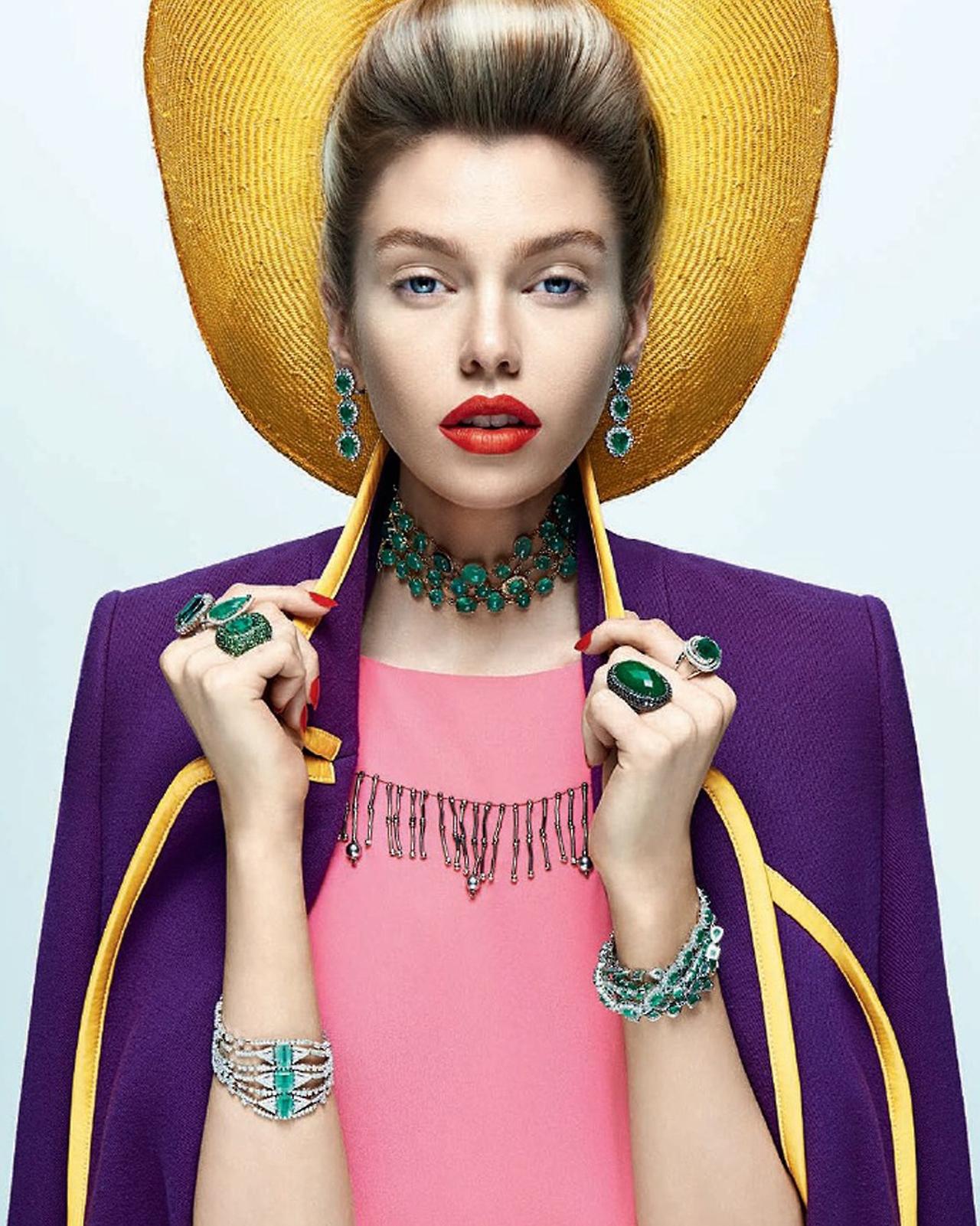 Stella Maxwell x Vogue Brasil August 2014 - ShockBlast