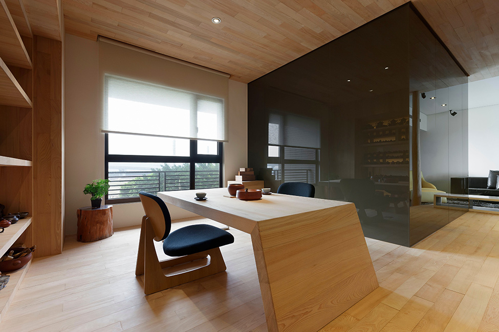 Modern Stylish Open Space Apartment In Taipei ShockBlast
