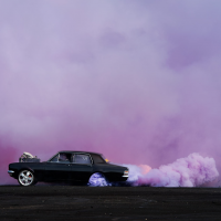 Photos from a Car Burnouts Contest - ShockBlast