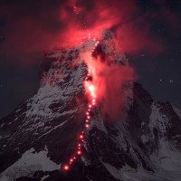 Hundreds Climbed The Alps For Epic Photoshoot - ShockBlast