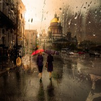 Rainy Cityscape Photography by Eduard Gordeev - ShockBlast