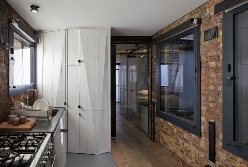 contemporary-shelves-and-storage-units-coupled-with-brick-walls