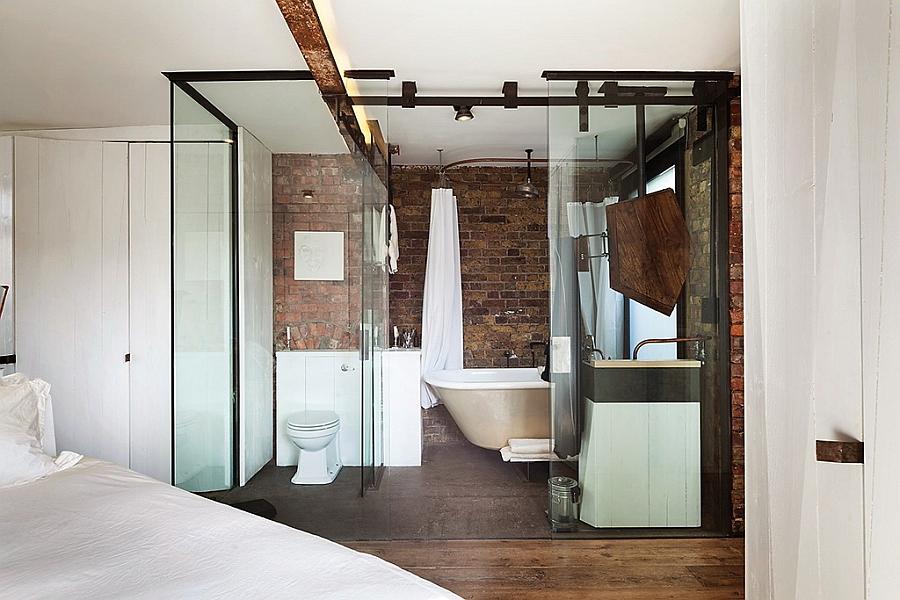 En Suite Bathrooms In Apartments: Beautiful Soho Warehouse Loft Apartment