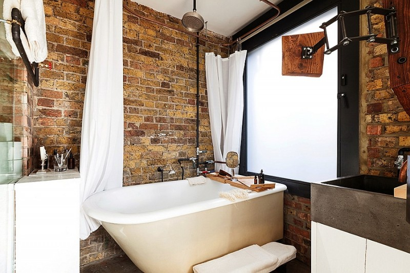 exposed-brick-walls-in-the-bathroom-give-it-a-rustic-look