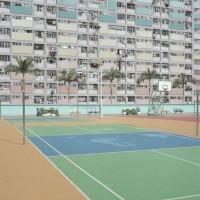 Pastel-Hued Courts by Ward Roberts - ShockBlast