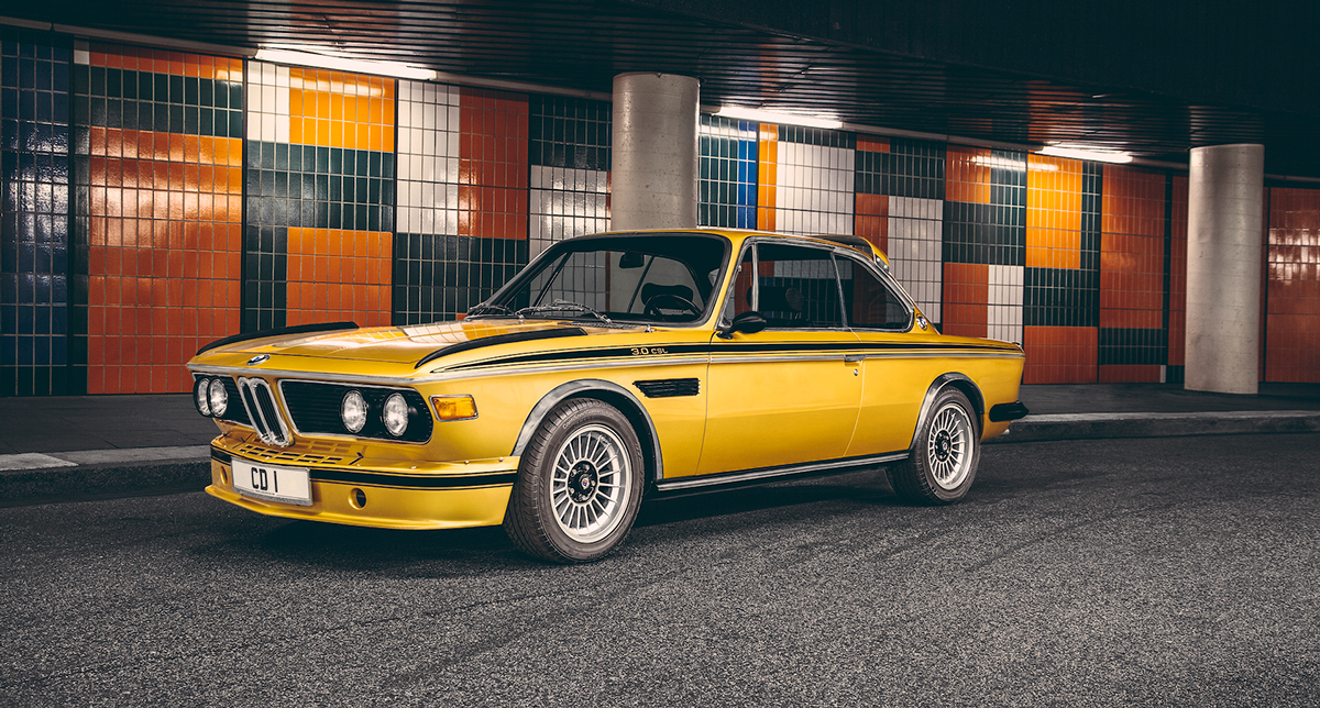 bmw 3 0 csl 1974 gold shockblast. Black Bedroom Furniture Sets. Home Design Ideas