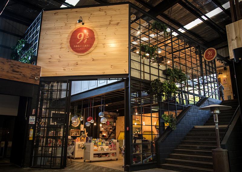 9 34 Bookstore And Caf ShockBlast