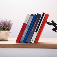 Floating shelf superhero holding your books - ShockBlast