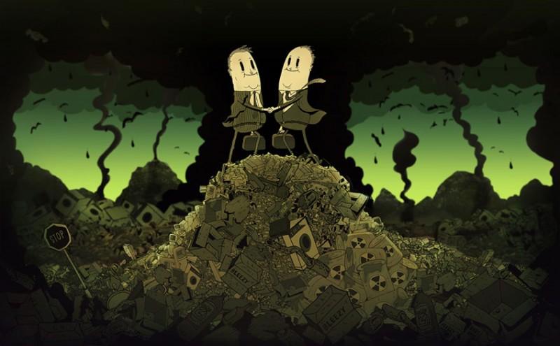 steve-cutts-worx-ShockBlast-modern-world-caricature-illustrations-steve-cutts-8