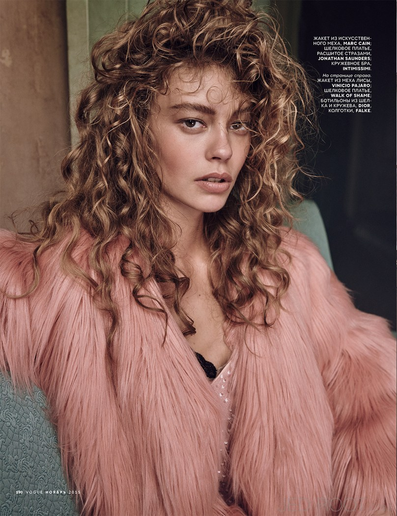 Ondria Hardin Is A Luxe Vision For Vogue Russia By Mariano: Ondria Hardin X Vogue Russia November 2015