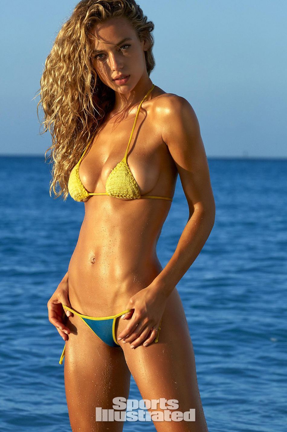 Swimsuit hannah illustrated nude models sports ferguson