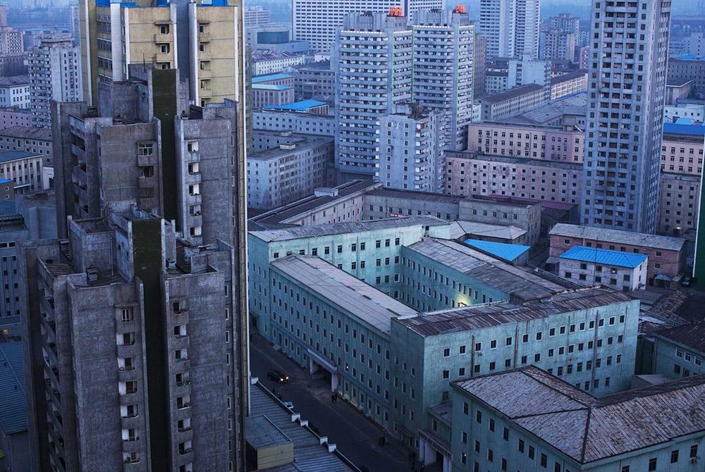 Central Pyongyang.