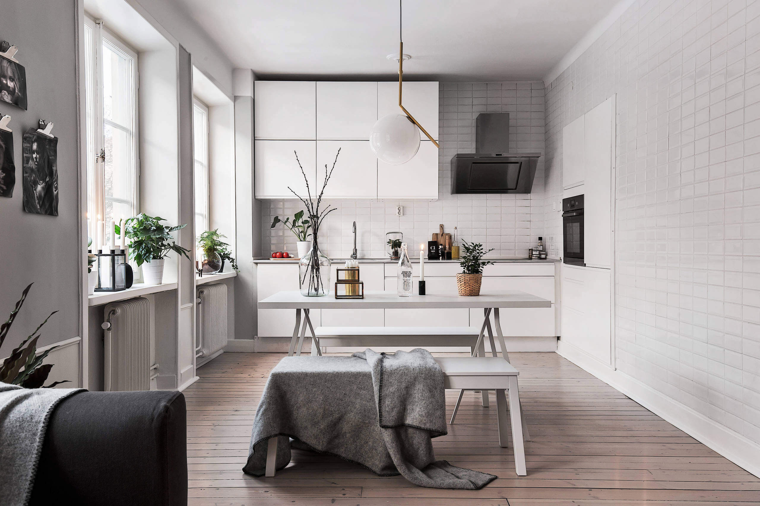 Minimal And Cozy Flat In Stockholm