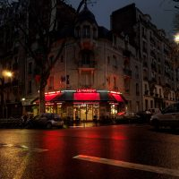 Red Light — Parisian Cafés in Rainy Nights - ShockBlast