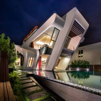 Contemporary Residence in Singapore - ShockBlast