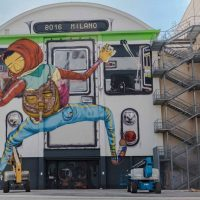 Os Gemeos Turned Building into Giant Train - ShockBlast