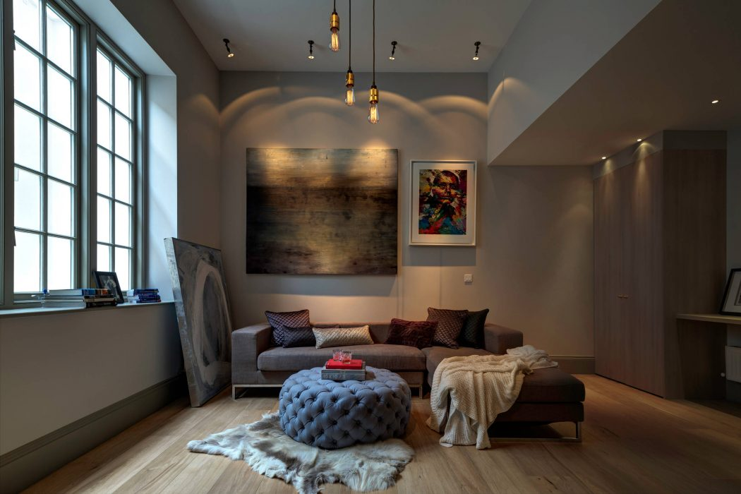 Elegant home in south west london shockblast for Home decorations london
