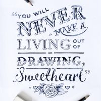 12 creative put-downs turned into cheeky typographic art - ShockBlast