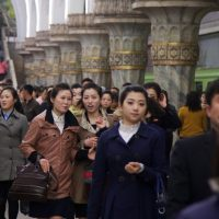 Pyongyang during City Marathon - ShockBlast